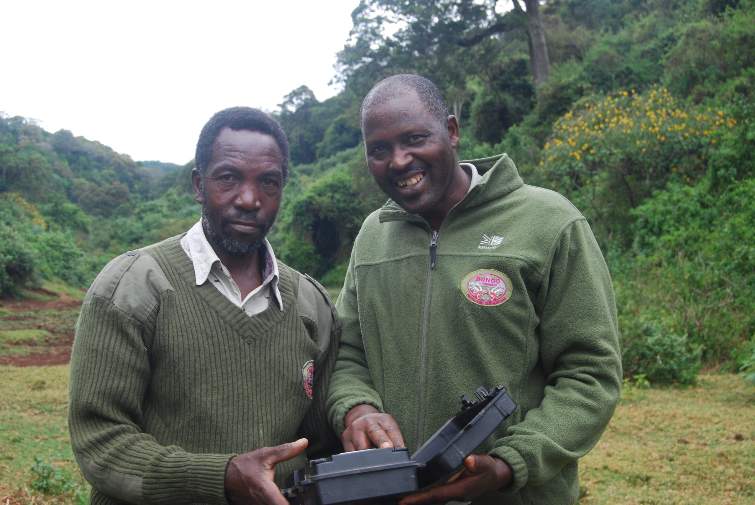 Mt Kenya National Park – Bongo Surveillance Project