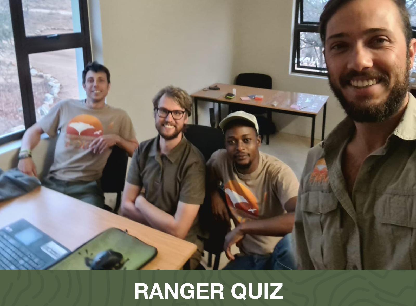 Quiz Winners - Transfrontier Africa - Ekuthuleni Conservancy Team South Africa