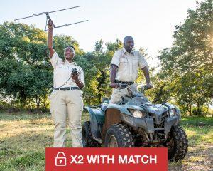 Give £100/$100 to Wildlife Ranger Challenge