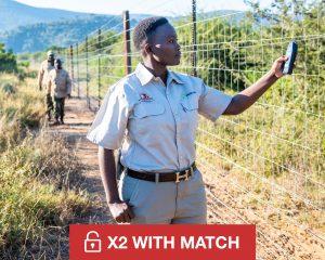 Give £250/;$250 to Wildlife Ranger Challenge