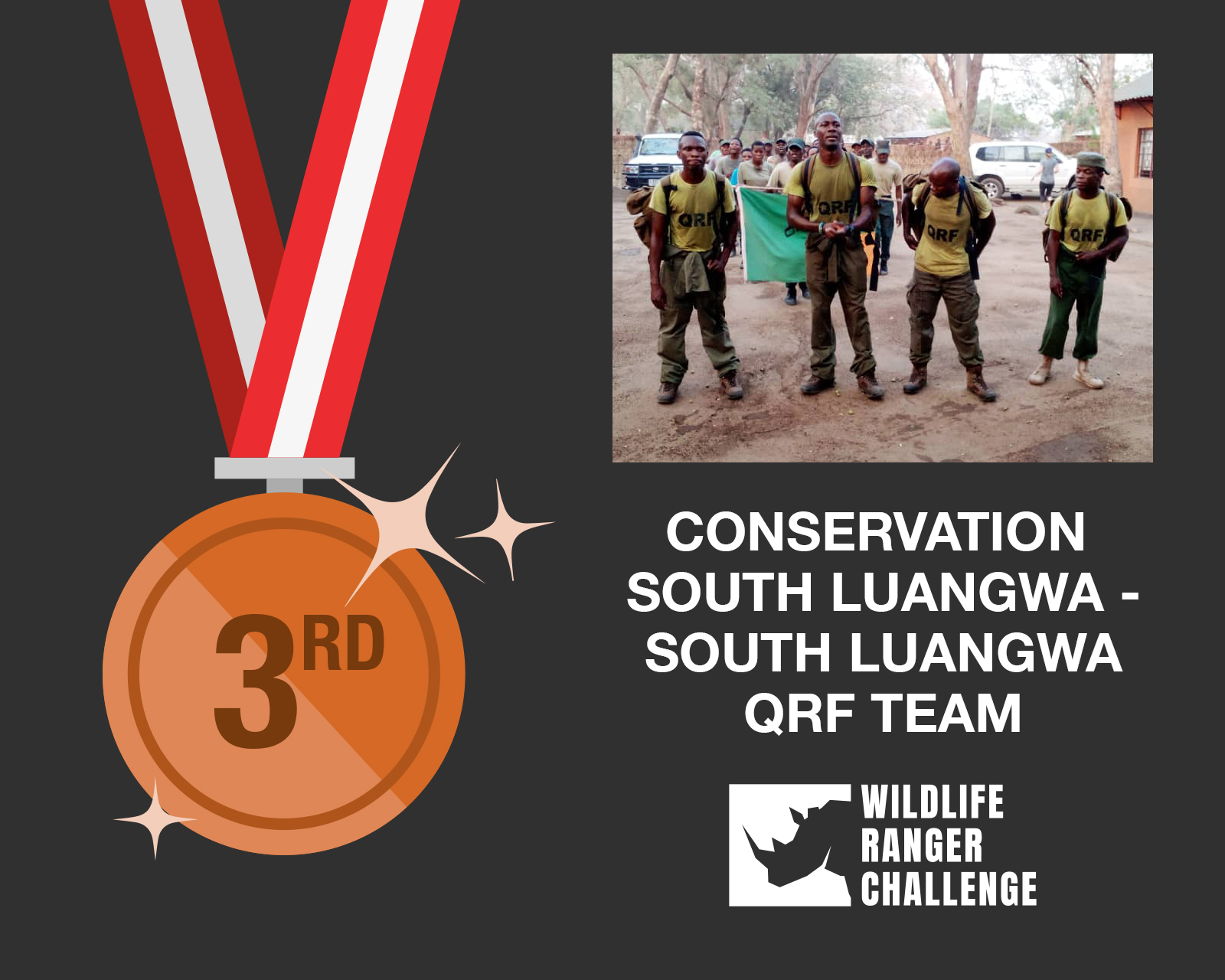Conservation South Luangwa - South Luangwa QRF Team